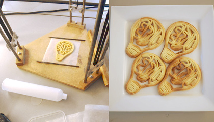 Jonathan Keep - 3D Printed Food